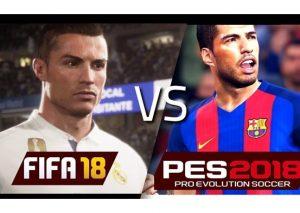 Büyük rekabet… FIFA 18 ve PES 2018 karşı karşıya