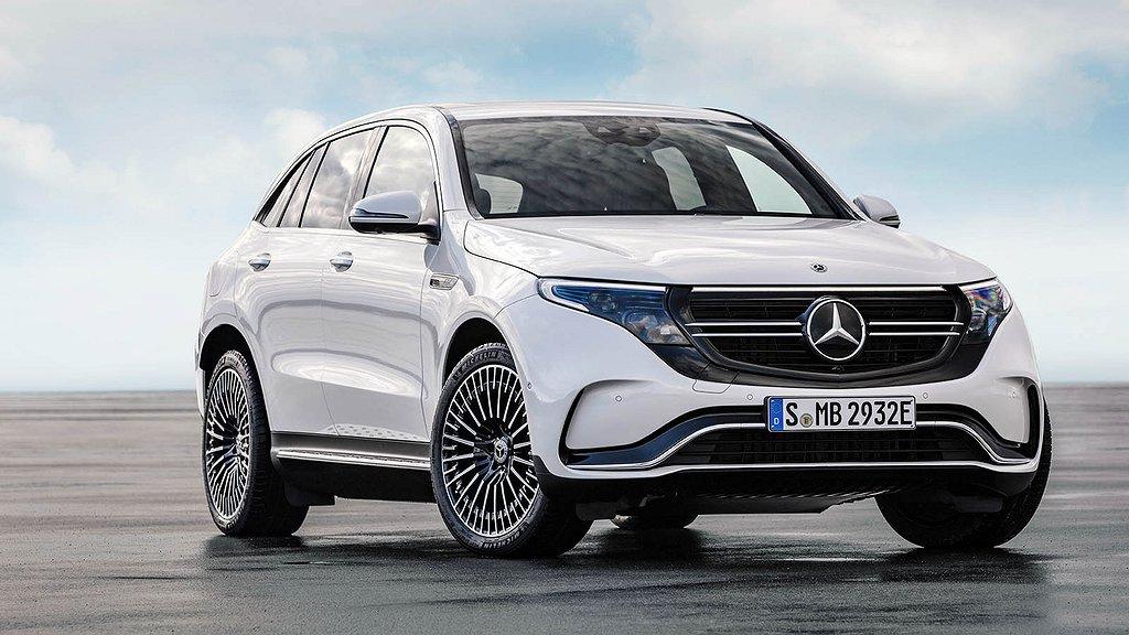 İlk elektrikli Mercedes modeli EQC, CES 2019'da tanıtıldı