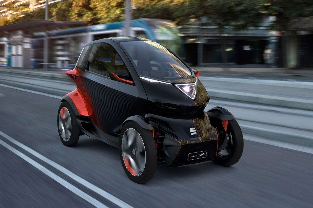 Seat Minimo - otomobil ve motorsiklet melezi