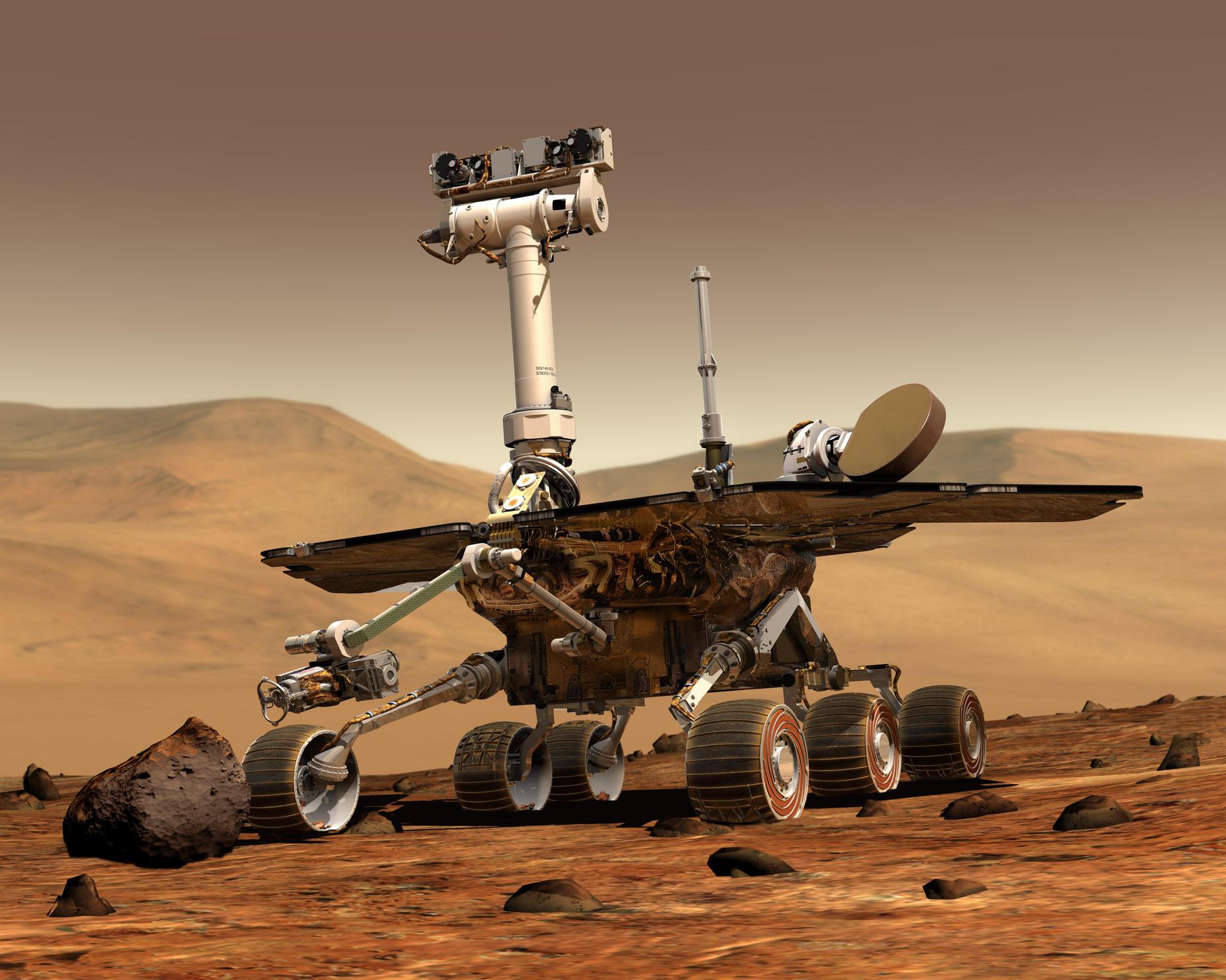 NASA'nın Mars Kâşifi Opportunity Ebedi Uykuya Uğurlandı