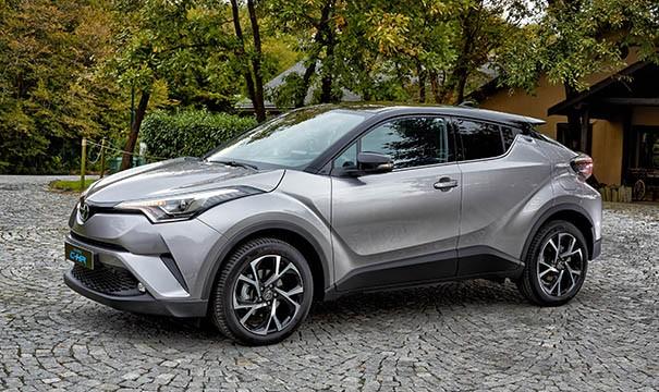 Toyota C-HR, 2018 yılının en çok satan hibrit otomobili oldu!