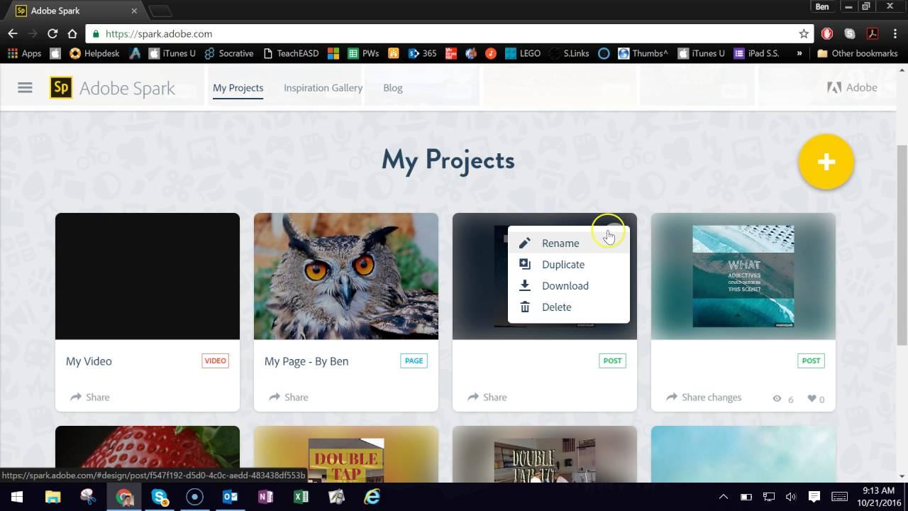 Adobe Spark Page ile kolay Web tasarımı