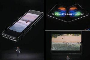 Samsung Galaxy Fold hakkında ilk resmi detaylar!
