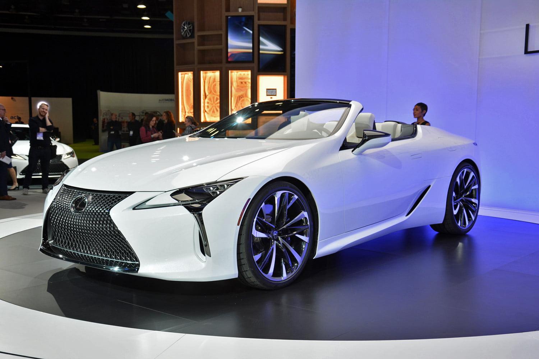 Lexus LC Convertible konsepti tasarım ödülüne layık görüldü!