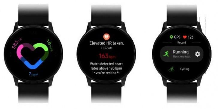 Samsung Galaxy Watch Active yeni One UI ile görüldü!