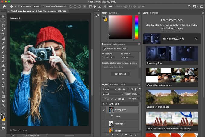 Photoshop CC 2019 incelemesi