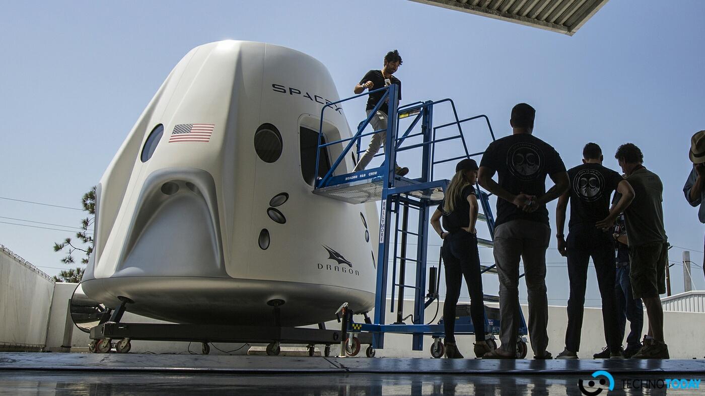 SpaceX'in Yeni Uzay Aracı Motor Testi Sırasında Başarısız Oldu