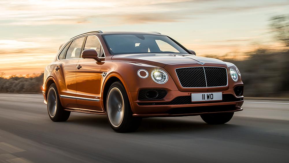 Yeni Bentley Bentayga