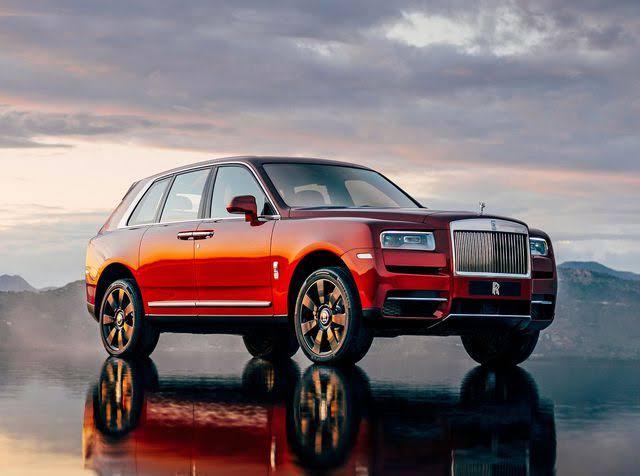 Rolls Royce Cullinan'a Yakından Bakın!