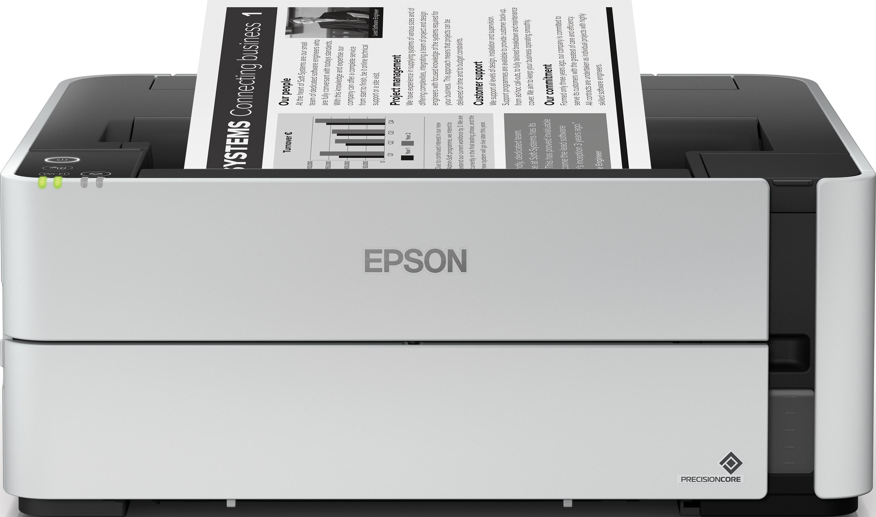Epson'ın Yeni EcoTank Mono Yazıcı Ailesi