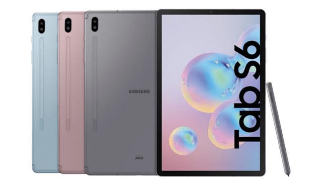 Galaxy Tab S6 Tanıtıldı!