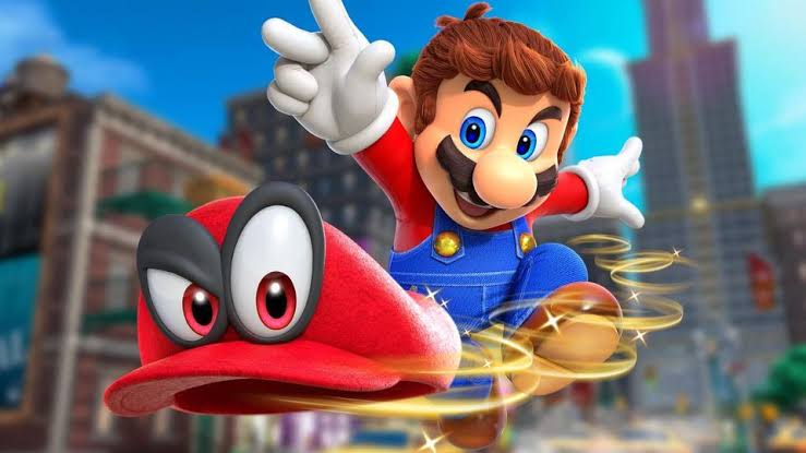 Super Mario Odyssey Oynanış Videosu