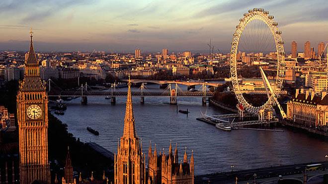 Drone ile Londra Turu