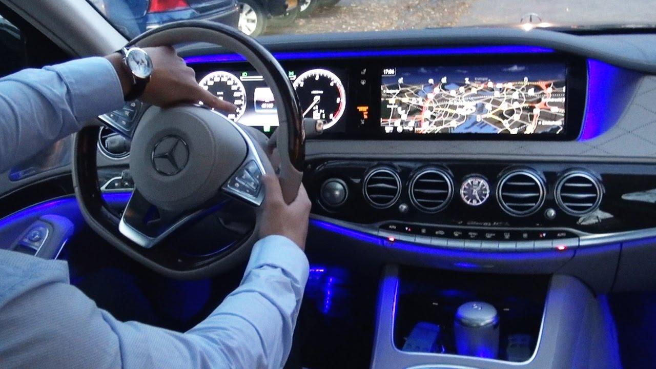 Mercedes Benz S 560 Coupe ile Test Sürüşü