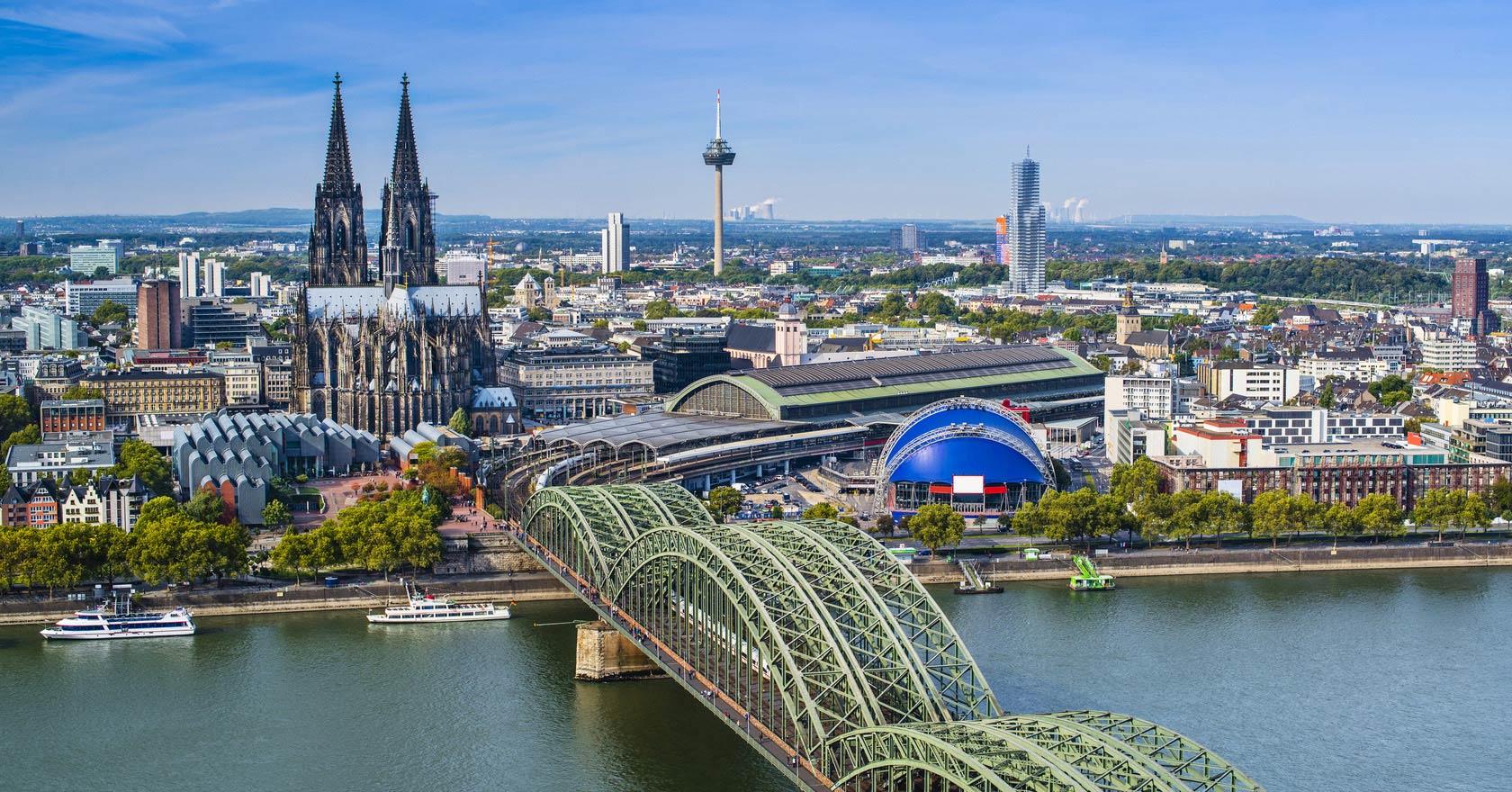 4K Drone ile Almanya-Köln Turu