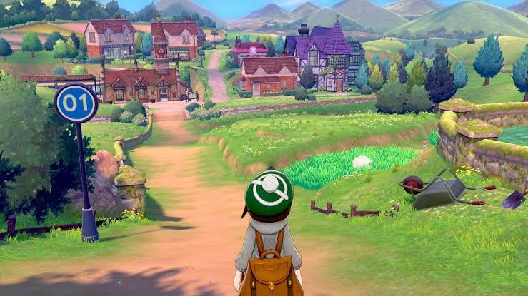 Nintendo Switch Lite Üzerinde Pokemon Sword Oynanışı