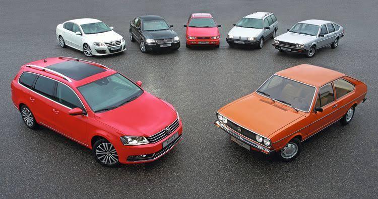 VW Passat'ın Yarım Asırlık Evrimi!