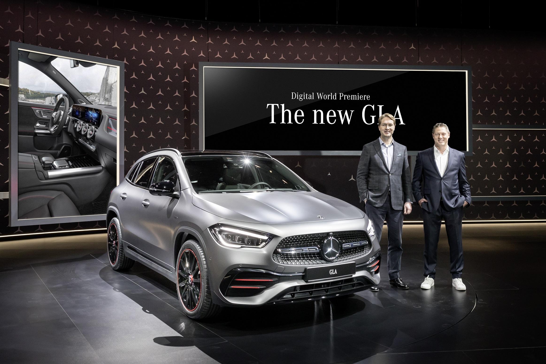 Yeni Mercedes GLA Resmi Olarak Tanıtıldı!