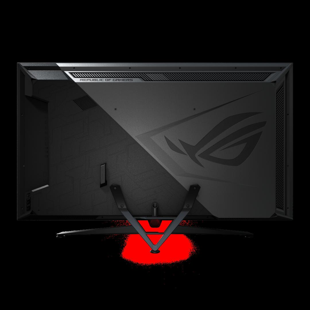 Asus ROG Gaming monitörü arka yüzü