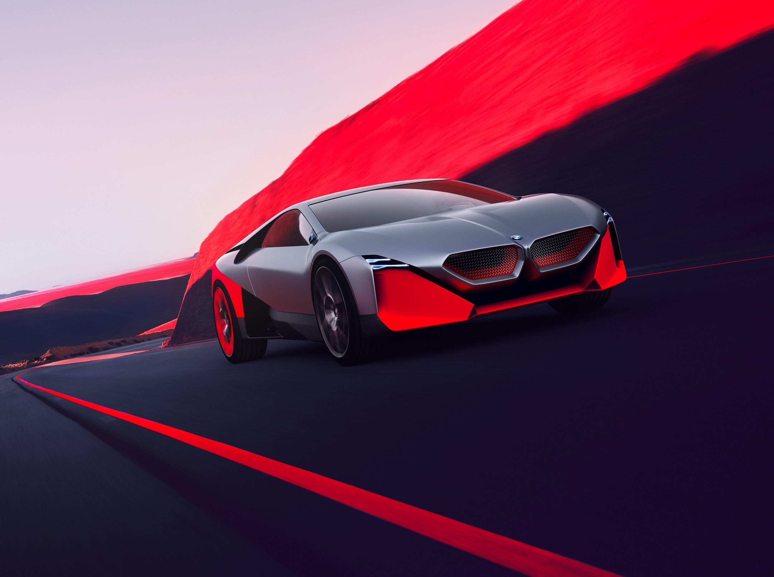 BMW Concept 4, Yeni X6 Vantablack ve Vision M NEXT
