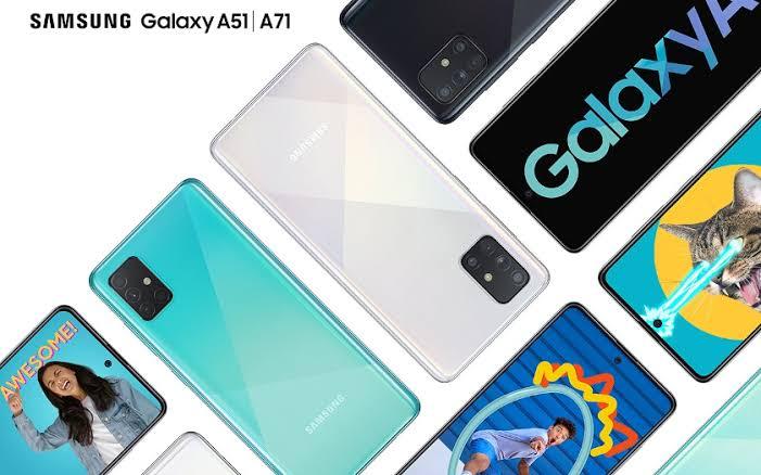 Samsung Galaxy A71 Kutu Açılışı!