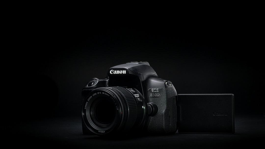 canon eos850 d ekran
