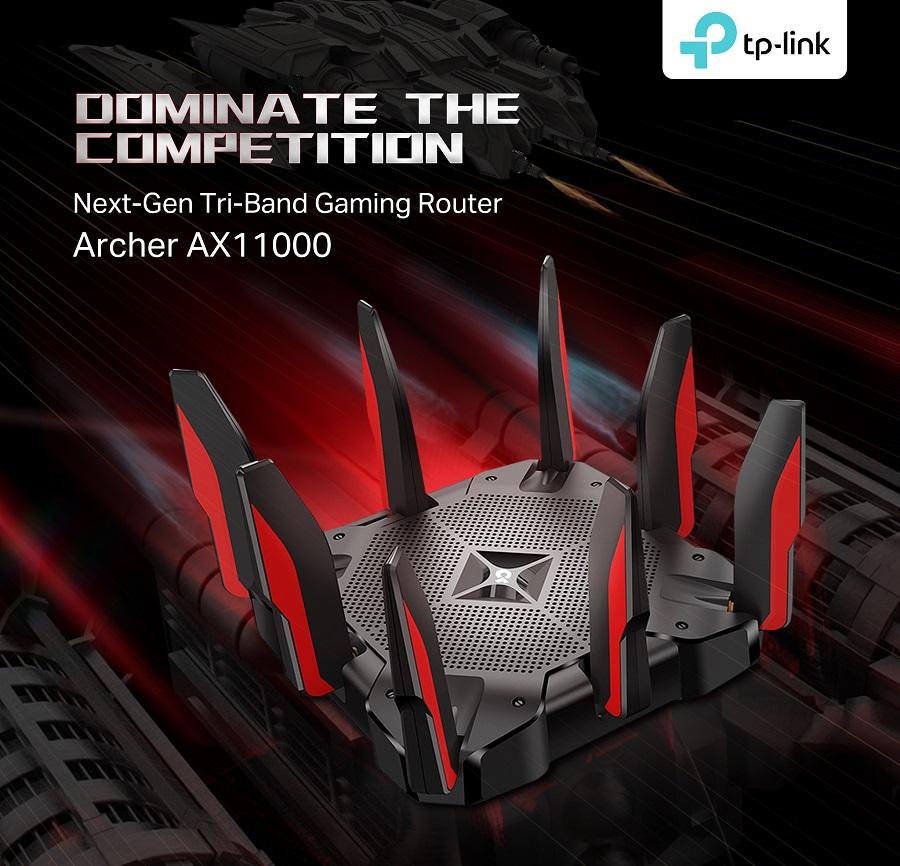 tp link online oyunlar için router