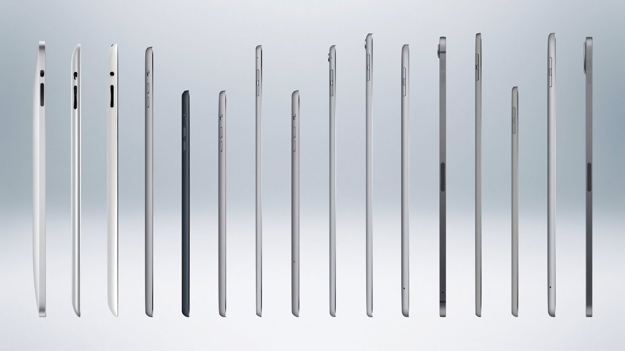 iPad Modelleri Nasıl Evrim Geçirdi?