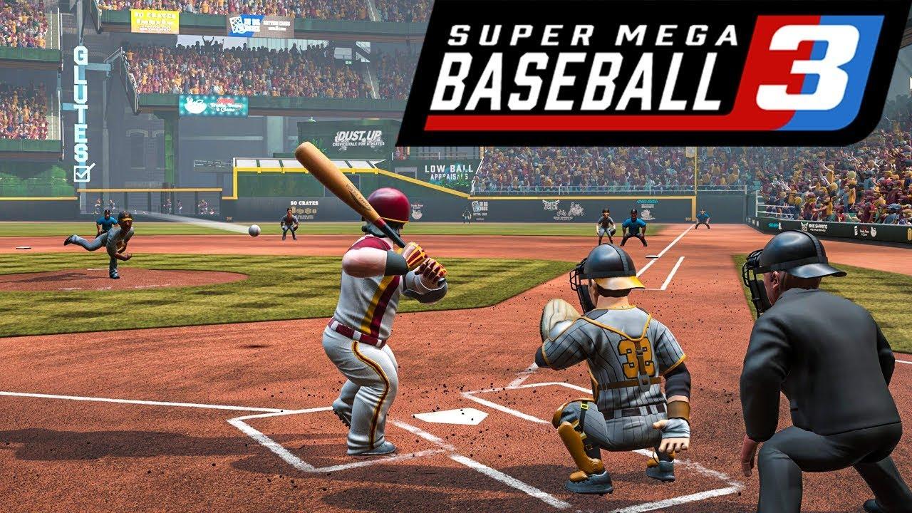 Super Mega Baseball 3 PS4'e geliyor!