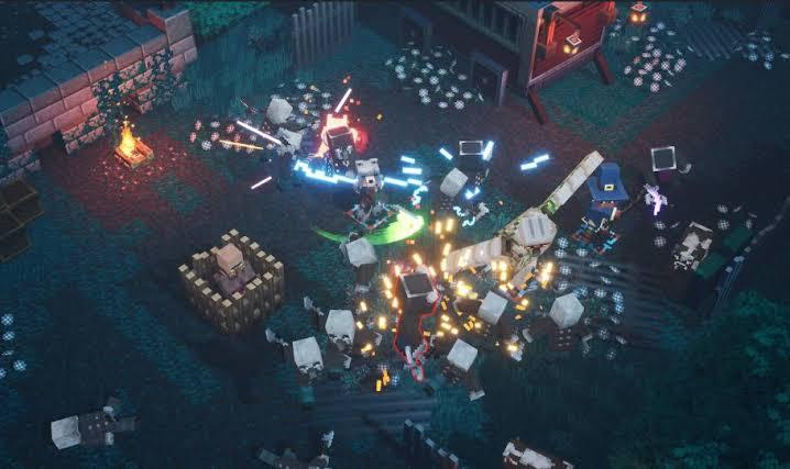 Minecraft Dungeons Trailer'ı Paylaşıldı!
