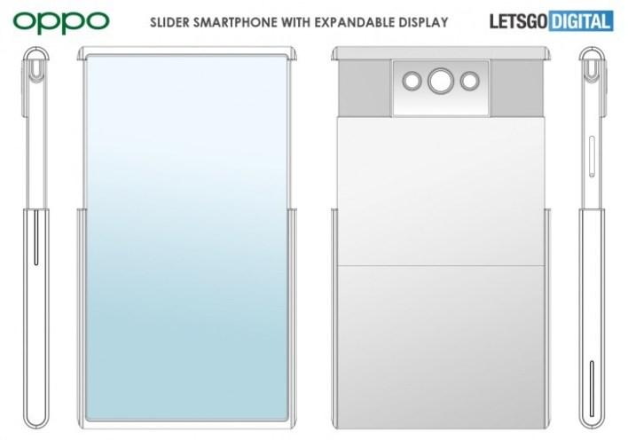 Oppo uzayan ekranlı akıllı telefon