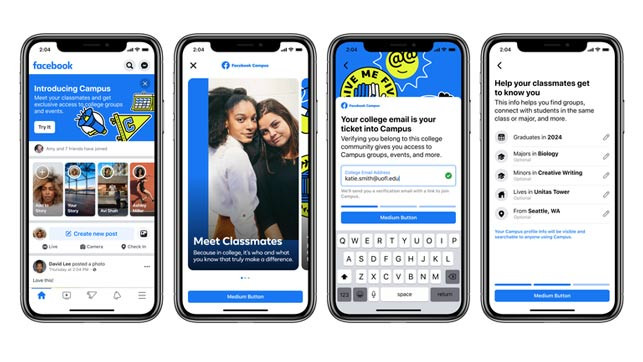 """Facebook'un """"Geleceğe Dönüş"""" Hamlesi: Facebook Campus!"""