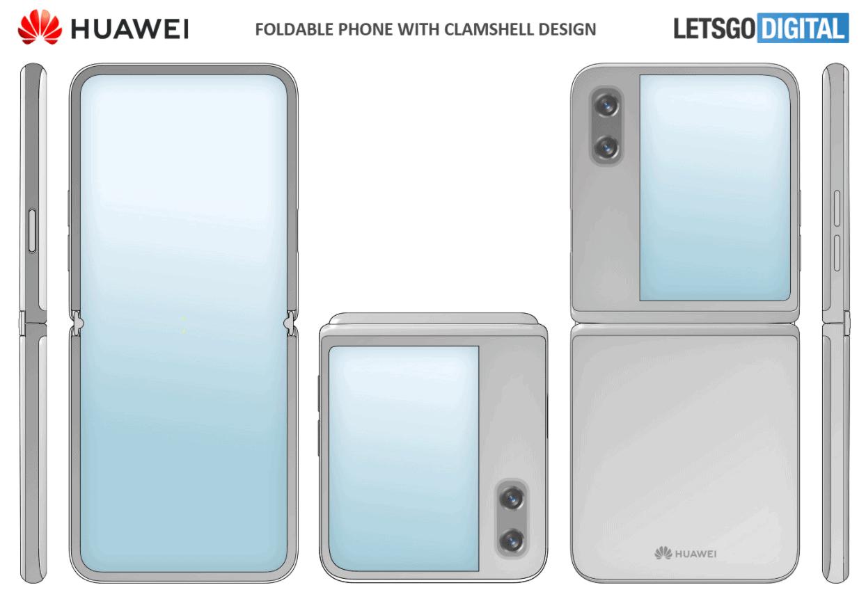 Huawei katlanabilir yeni akıllı telefon