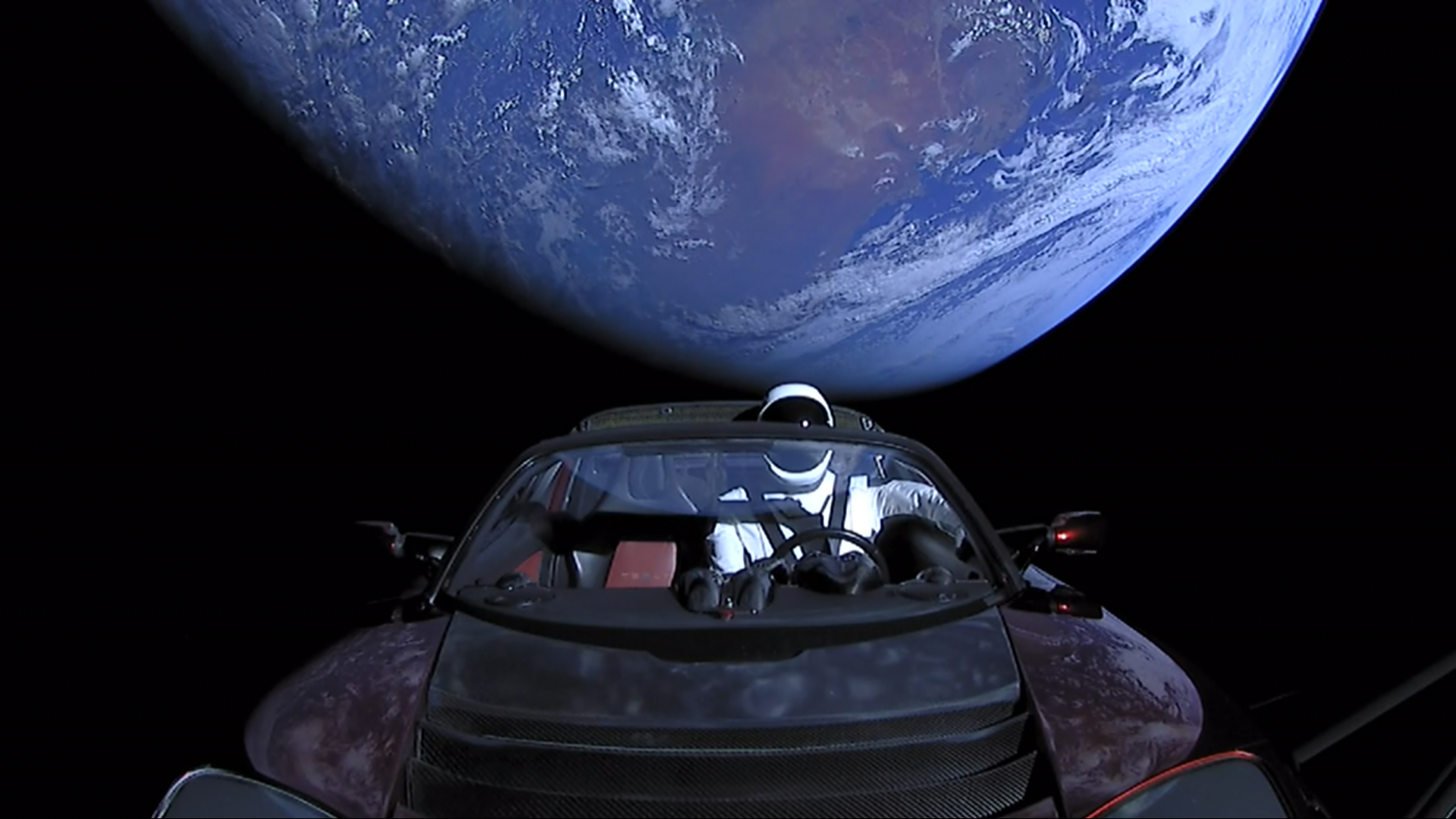 Falcon 9 roketi havada