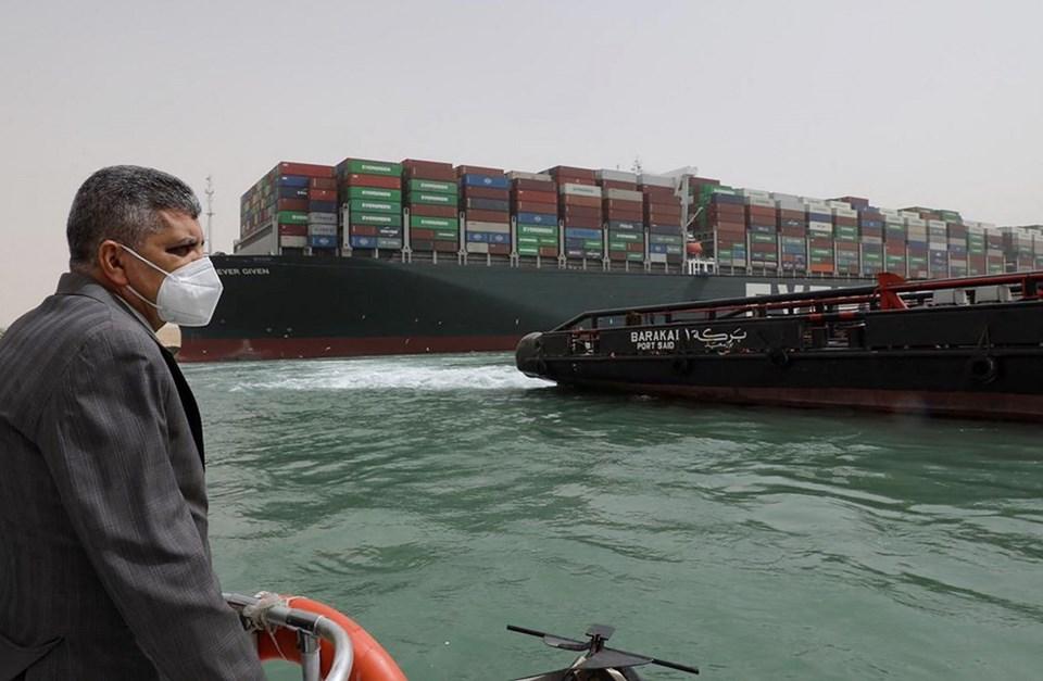 Süveyş Kanalı'ndaki tıkanıklık