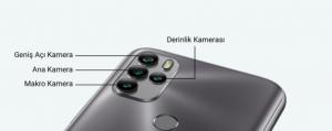 General Mobile Gm 21 Pro kamera