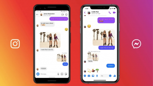 Facebook Messenger ve Instagram mesajları