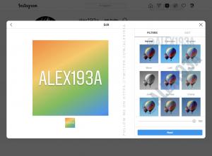 Instagram masaüstü paylaşımlarında filtre ekleyebileceksiniz