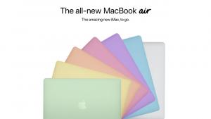 MacBook Air 2021 temsili fotoğrafları