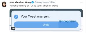Twitter Blue 'Geri al' özelliği