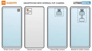Xiaomi, yeni kamera patenti