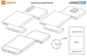 Xiaomi modüler telefon patenti