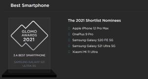 Samsung Galaxy S21 Ultra en iyi telefon seçildi