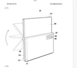 Samsung yeni telefon patenti