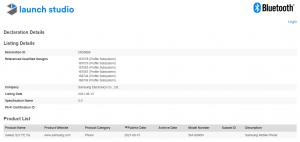 Samsung Galaxy S21 FE 5G Bluetooth sertifikası